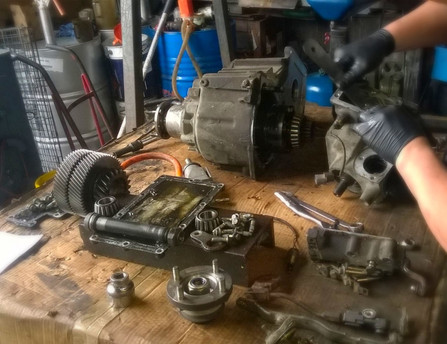 Transmission and engine repairs in house