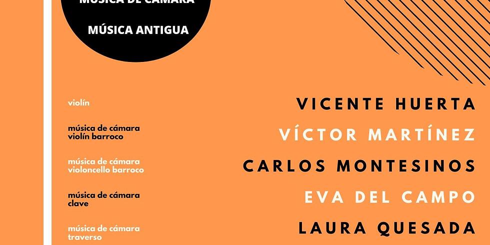 2020 Masterclasses - Traverso and Chamber Music - XV Edición Cursos Cuerda (Chera, Valencia, Spain)