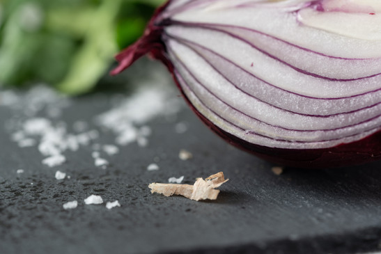 Red Onion and Salt