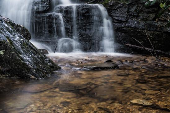Waterfall at Hanging Rock