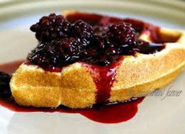 Blackberry Waffle