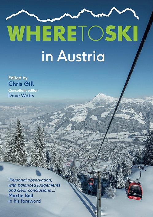 Where to Ski in Austria front cover