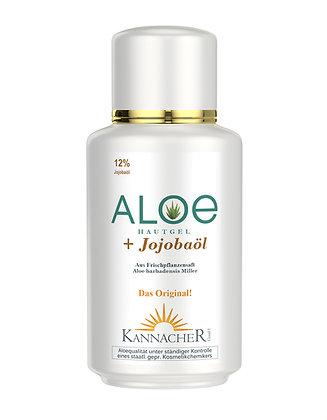 Aloe Hautgel mit 12 % Jojobaöl 200 ml EK