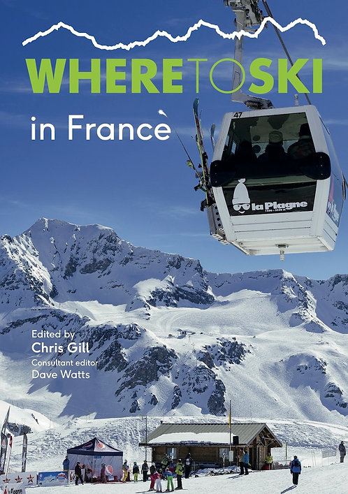 Where to Ski in France front cover