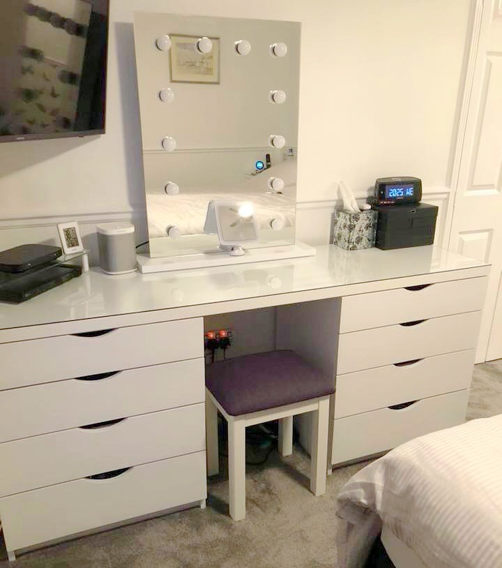Bespoke Dressing Table and Matching Side Cabinets-Rochford