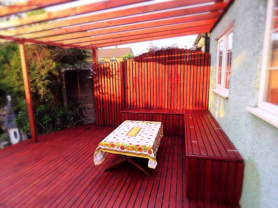 Maple Decking Area-Leigh On Sea