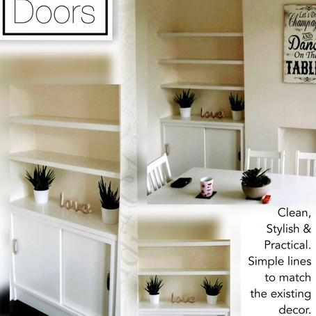 Sliding doors - A practical solution....