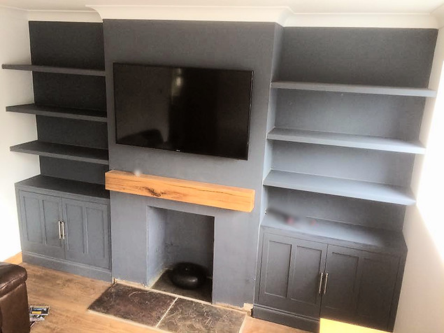 Fitted Alcove Unit-Aveley