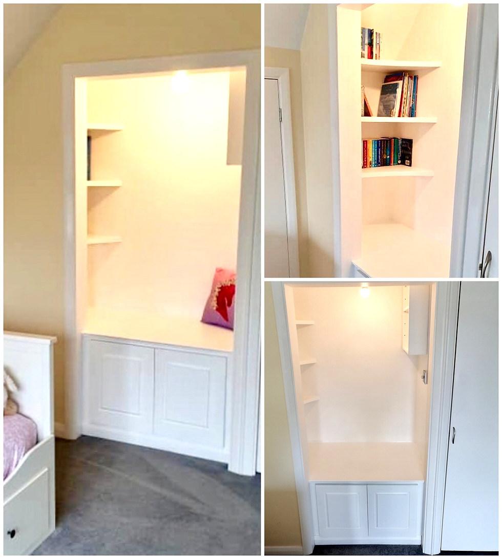 Bespoke Reading Nook with Storage