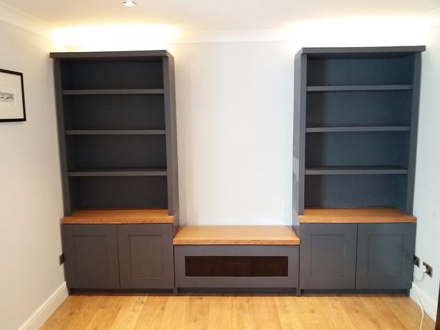 Freestanding Media & Storage Unit-Maldon