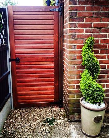 Hardwood Garden Gate-Hadleigh