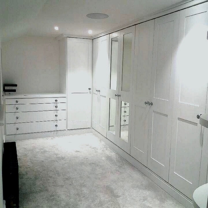 Fitted Walk in Wardrobes,Draws & Shelving - Stock,Essex