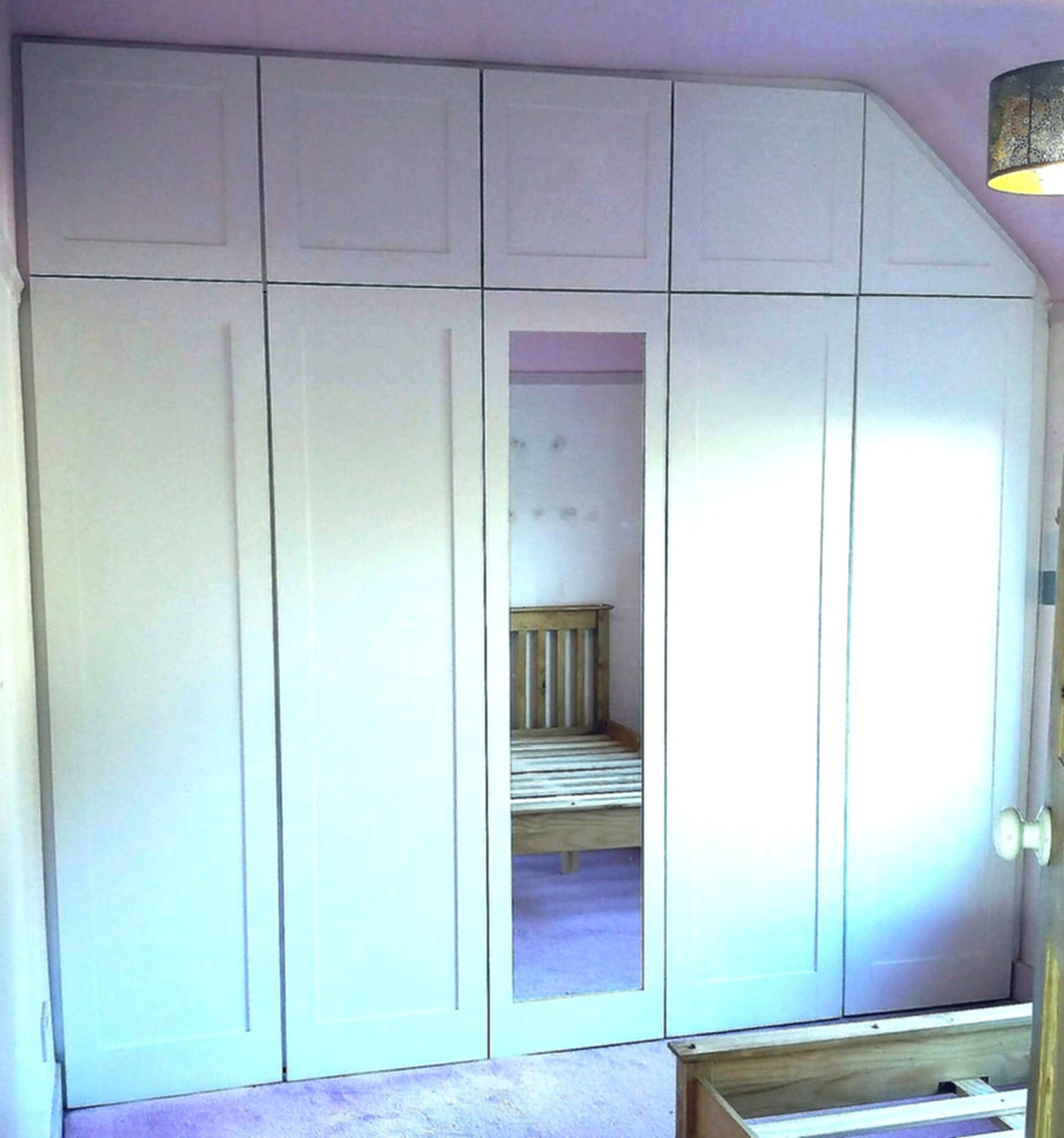 Fitted Wardrobes for Teenagers Room-Leigh On Sea- October 2018