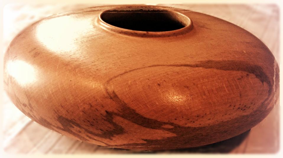 Hand Turned Bowl-Southend On Sea
