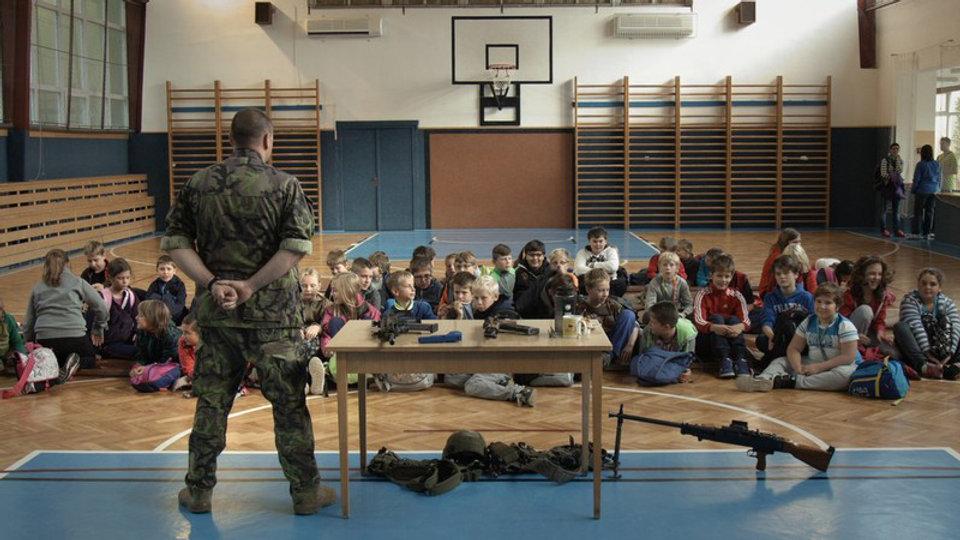 CZECH JOURNAL: TEACHING WAR