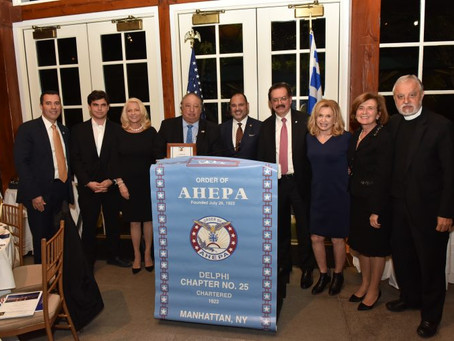 Catsimatidis Honored by AHEPA Delphi Chapter #25 (Vid & Pics)