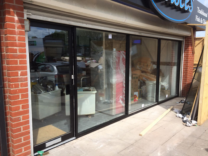 Aluminium Bi-fold-doors for extensions