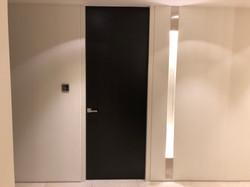Spray Painted doors