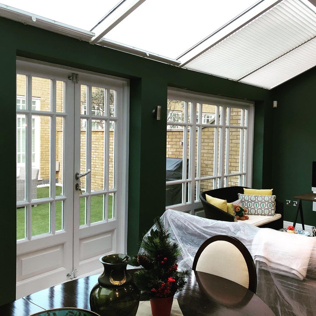 Conservatory renovation Fulham