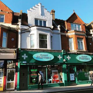 Facade Renovation on Fulham Road