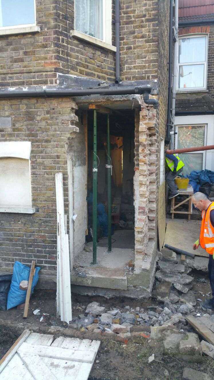 Wall removal Extension Conversion
