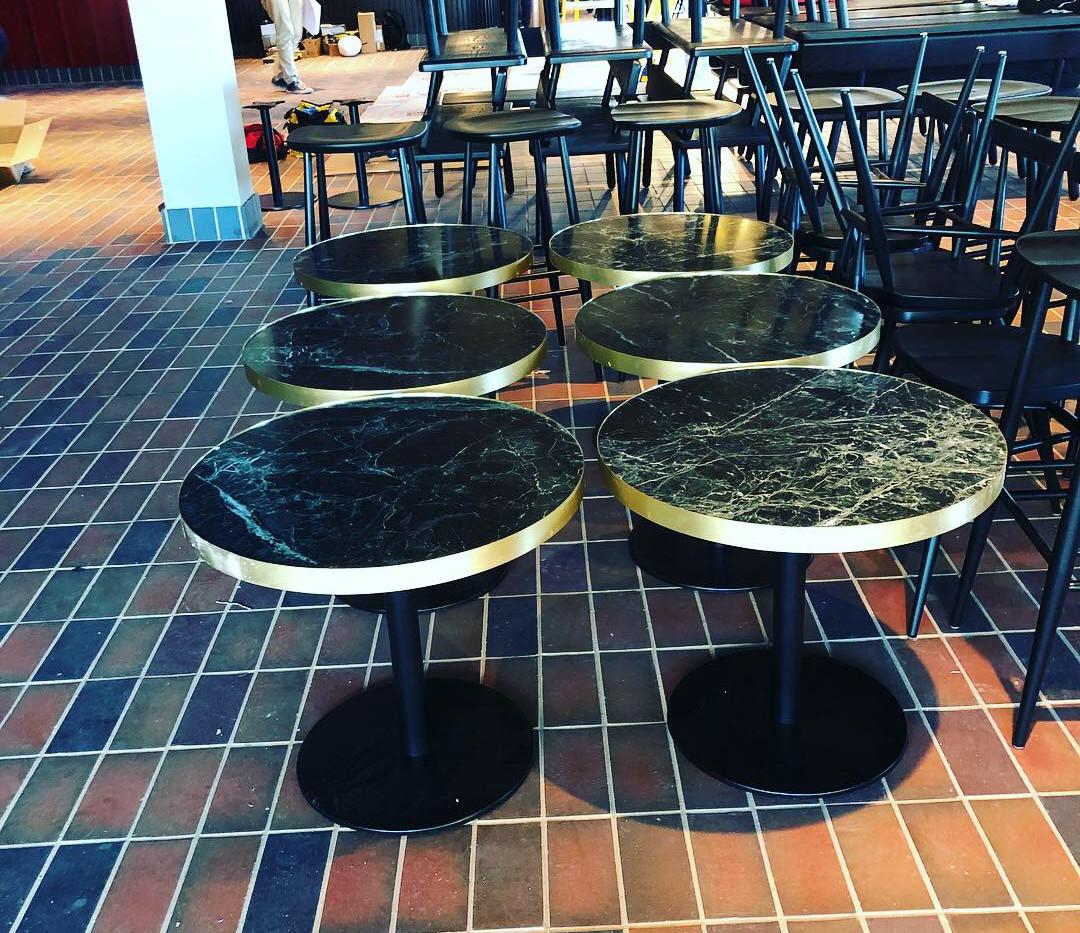 Restaurant Marble Tables