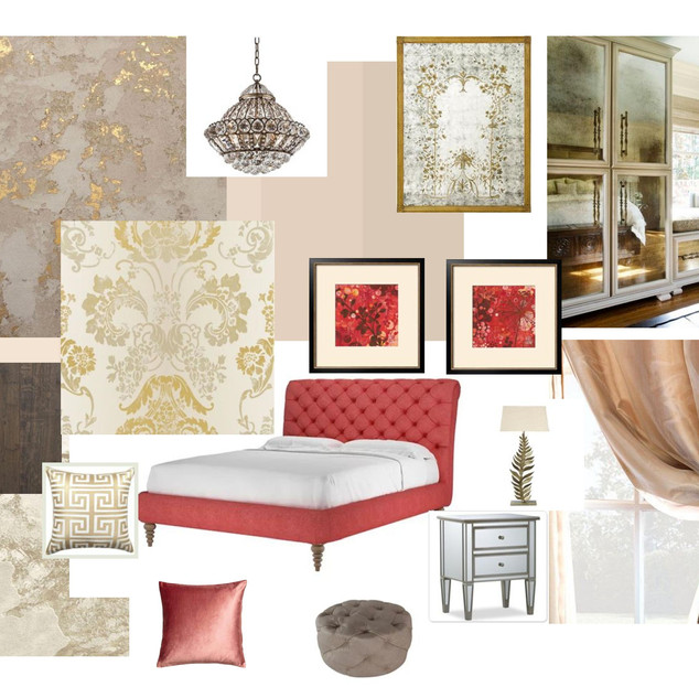 Mood Board Luxury bedroom