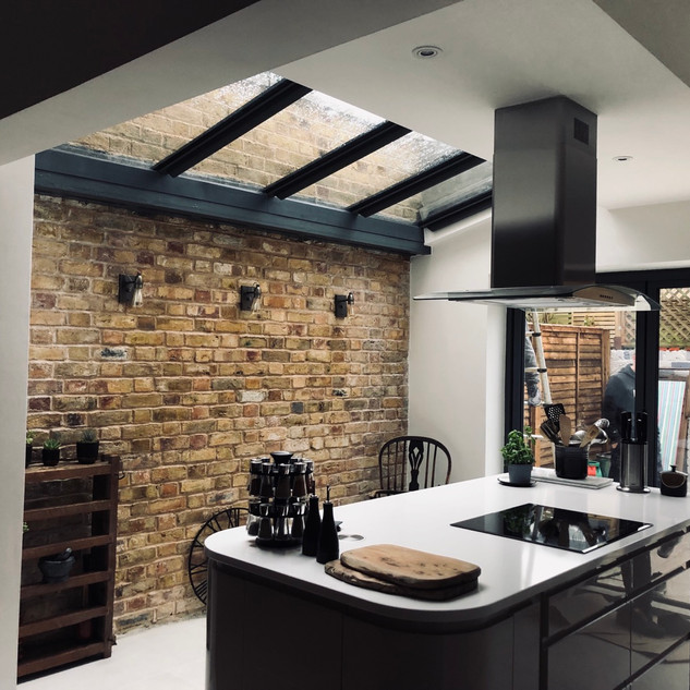 Extension Brick Wall Clapham