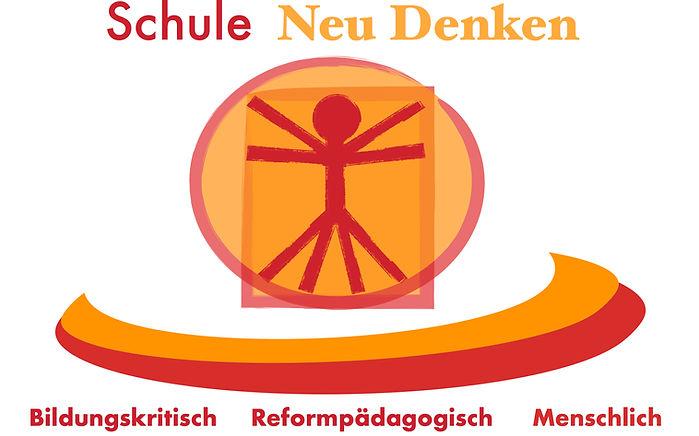 Das Logo von Schule Neu Denken e.V. ist an die Zeichnung Leonardo Da Vinci angelehnt.