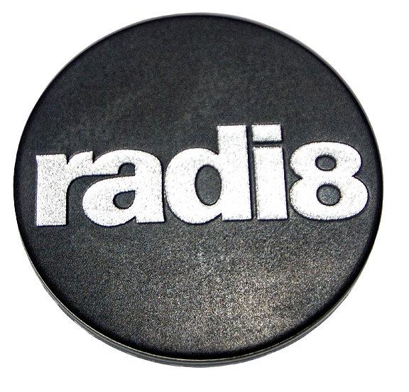 Radi8 Wheel Matte Black Center Cap.