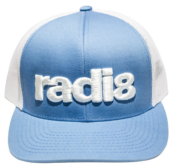 Radi8 Wheels Snap Back Hat