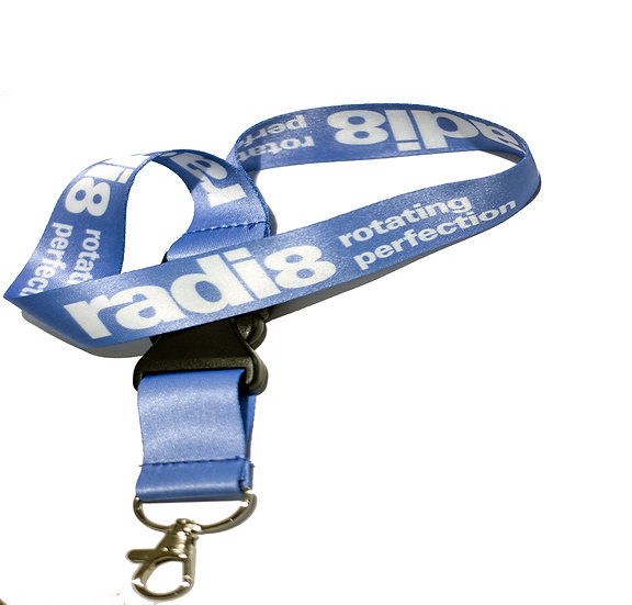Radi8 Wheels Lanyard