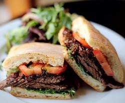 Tender Steak Sandwich