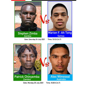 Contrasting stats between Zambian boxers and their opponents at the Olympics