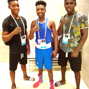 Olympic-bound boxing trio ranked among top 10 best globally