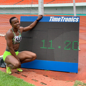 Rhoda still determined to qualify for Tokyo Olympics
