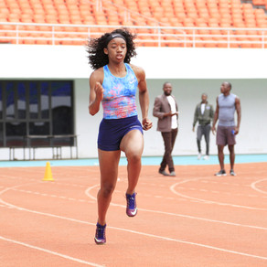 SUWILANJI MPONDELA; Sprinter shares experience of training under COVID-19 restrictions (Q&A)