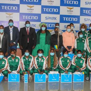 TECNO donates smartphones to Olympics team