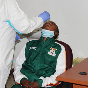 Regular COVID-19 screening begins for athletes