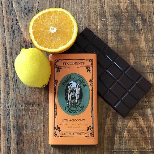 Rowdy and Fancy's chocolate bars
