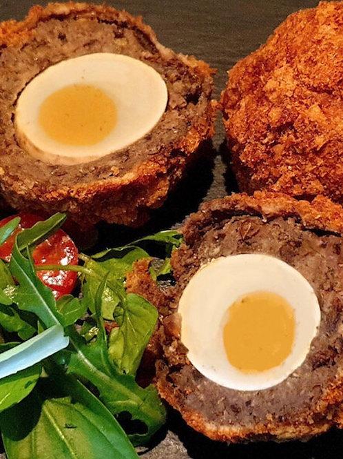 Vegetarian Mushroom Scotched Egg