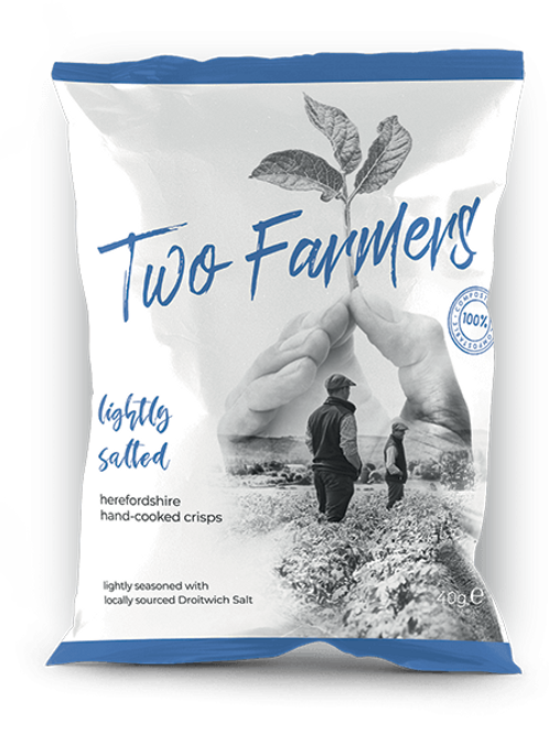 Two Farmers Crisps, Lightly Salted, 40g