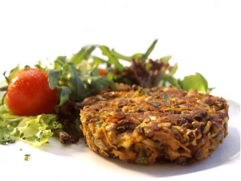 Frozen Lentil & Vegetable Burger