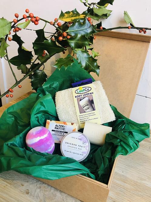 Zero Waste Bathroom Essentials Gift Box