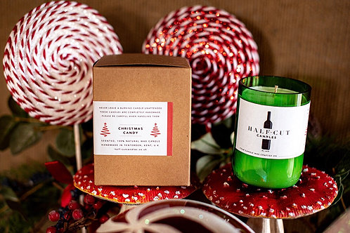 Half Cut Candle Christmas Candy
