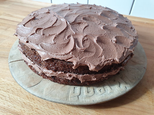 Spiced Chocolate Cake -slice