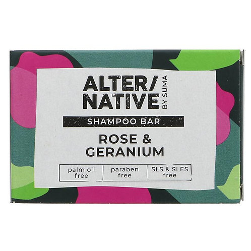 Alternative Rose & Geranium shampoo bar