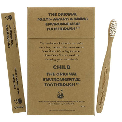Environmental Toothbrush child