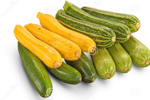 Mixed Courgettes