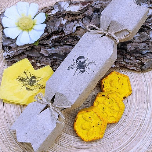 Eco Friendly Bee Christmas Crackers